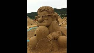 Zhoushan China  city photo : Part 1 - Finished Sculptures - Disney Project - Zhoushan, China