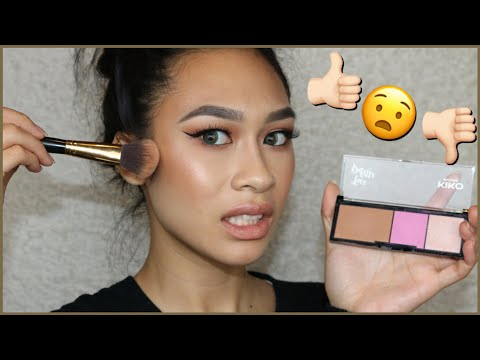 Kiko Milano | One Brand Makeup Tutorial | Application + Review || ThatsSoYin