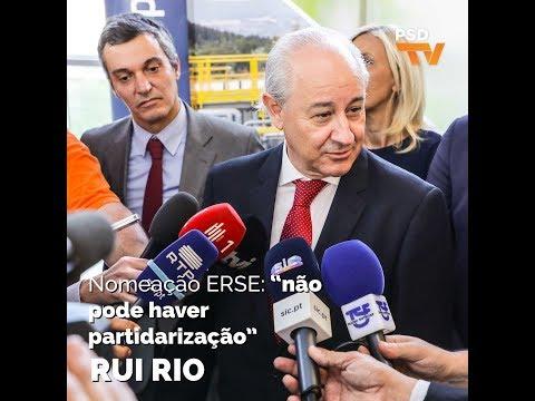 Rui Rio afirmou que não se pode partidarizar ou politizar os órgãos de regulação.