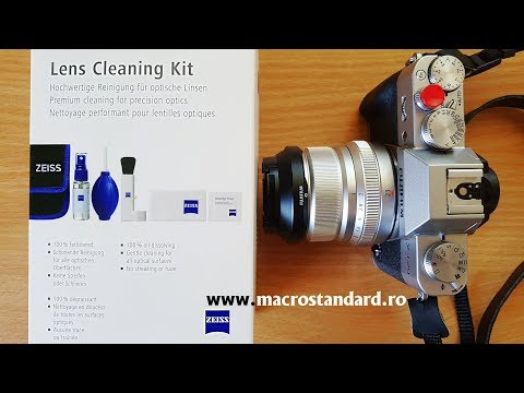 Prezentare Kit pentru curatarea lentilelor AF Carl Zeiss CLCK000 - Lens Cleaning Kit