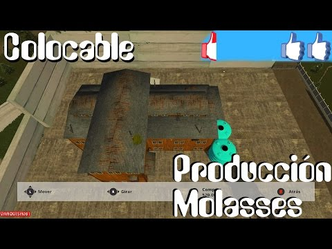 Molasses Production Plant placeable v1