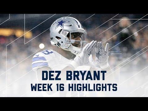 Dez Bryant 3 Total TD Game! | Lions vs. Cowboys | NFL Week 16 Player Highlights (видео)