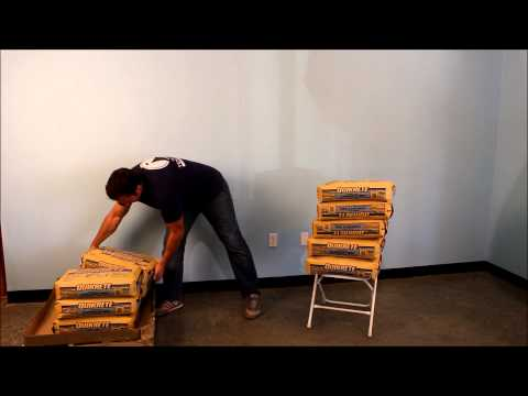 Plastic Folding Chair Weight Demonstration