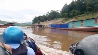 Houayxay Laos  city photo : Luang Phrabang Laos to Ban HouayXay Laos/Thai border (Sept 2009) Part 1