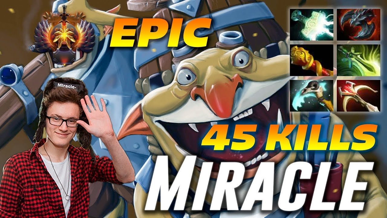 Miracle Techies 45 Frags | EPIC 2 Hours Game | Dota 2 Pro Gameplay - YouTube