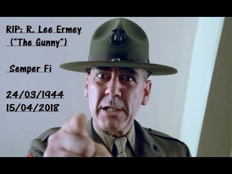 RIP: R.Lee Ermey Video tribute.