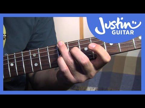 Mini Blues Chord Grips – Blues Rhythm Guitar – Guitar Lesson | Riff ...