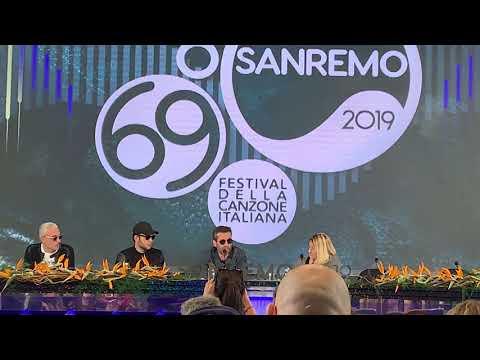 Daniele Silvestri racconta la presenza di Rancore a Sanremo 2019 per Argentovivo видео