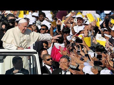 Ο Πάπας Φραγκίσκος στο Άμπου Ντάμπι