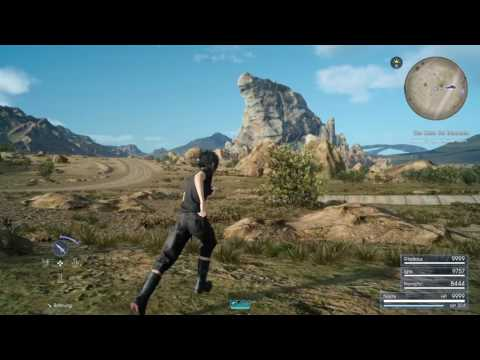FINAL FANTASY XV Finding the Dread Behemoth Timed Quest