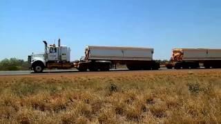 Port Hedland Australia  City pictures : Iron Ore Road Trains galore Port Hedland Western Australia