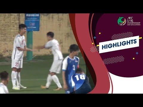 U16 Việt Nam - U16 Mông Cổ | Thắng lợi đậm đà 7 sao