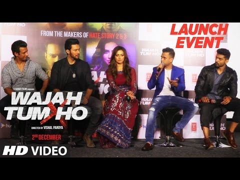 Wajah Tum Ho Movie Trailer Launch Event