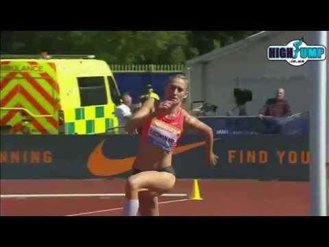 women high jump Diamond League Birmingham 2015