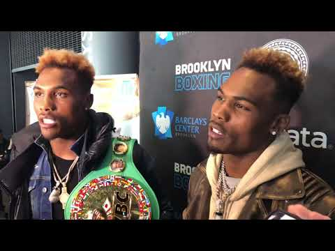 CHARLO TWINS WANT CARD WITH JERMALL CHARLO VS GGG AND JERMELL CHARLO VS CANELO