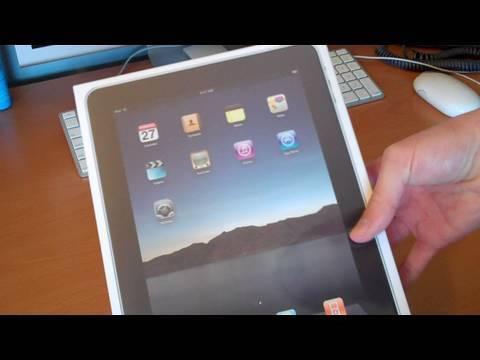 Unboxing: iPad (32GB Wi-Fi)