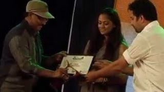 Simran,Venkat and GV at Soulmates Foundation Awards 2014