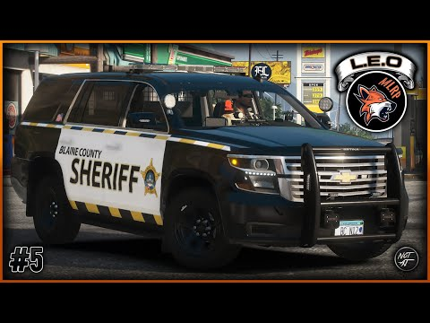 GTA 5 FiveM | Major League Roleplay (MLRP) | #5 - SWAT Arrests an Armed Subject [LEO]