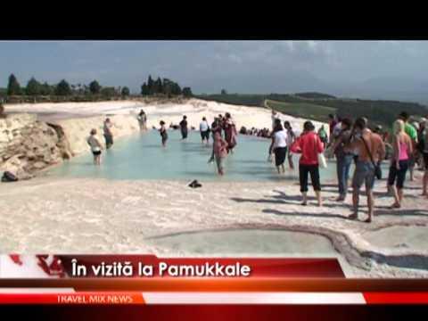 În vizită la Pamukkale – VIDEO