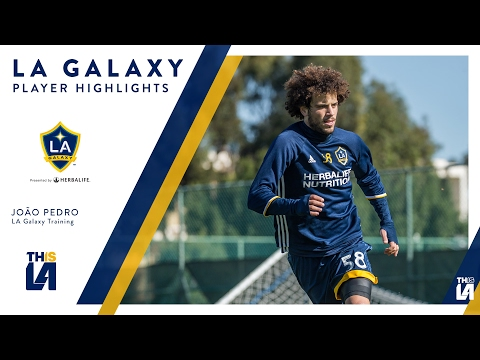 Video: WATCH: João Pedro in training for the LA Galaxy