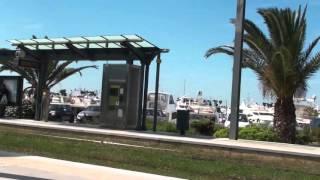 Athens video walk, tour of Glyfada sea front