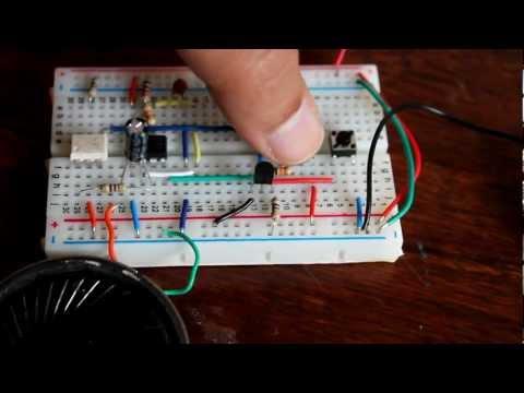 Latch up circuit using NE555 timer