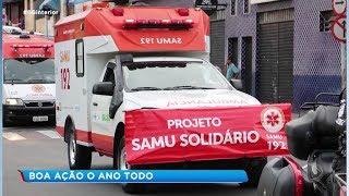 Tatuí: Samu promove boa ação o ano todo