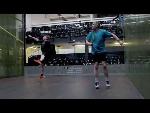 Squash tips: Playing in cold court conditions - Attacking at the first opportunity