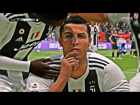 FIFA 19 -  Juventus Vs Ajax | UEFA Champions League | HD PS4 PRO