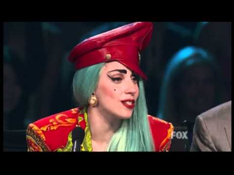 Lady Gaga cries on So You Think You Can Dance Video