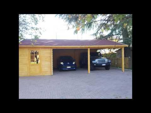 GARAGE IN LEGNO VALDAOSTA, BOX AUTO IN LEGNO - Casette Italia