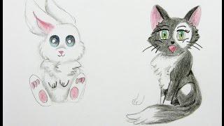 verschiedene Tiere zeichnen