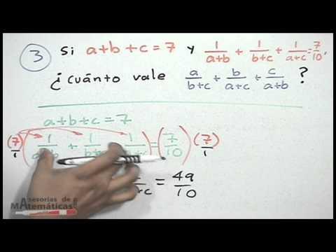 Finden Sie den Wert einer Gleichung gegebenen Bedingungen