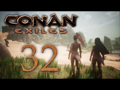 Conan Exiles - прохождение игры на русском - Сепермеру, город Сета [#30]   PC (видео)