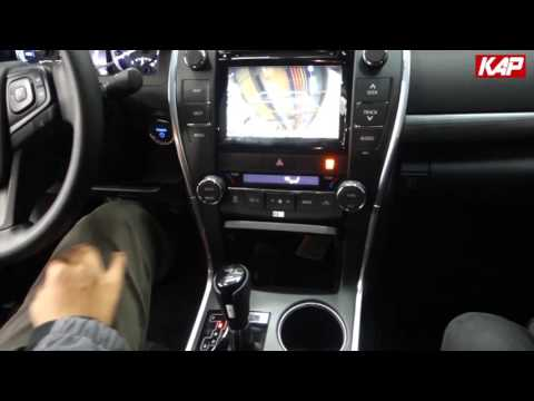 Toyota Camry 2016 Interface (For Navigation)