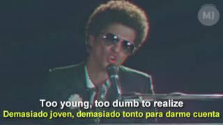 Letra Traducida When I was your man de Bruno Mars