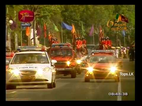 64th National Independence Day Celebration Of Sri Lanka Live From Anuradhapura Part 03