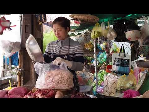 Saigon food market - Several Hot Countries