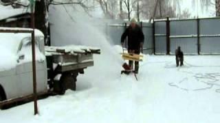 снегомет Буран 1