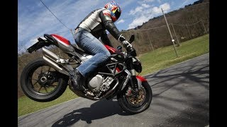8. MV Agusta Brutale 1078 acceleration and exhaust sound