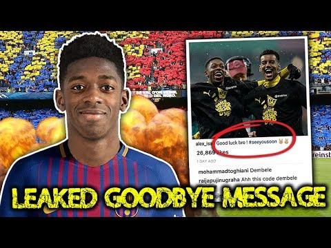 Video: LEAKED: Borussia Dortmund Star Confirms Move To Barcelona! | Transfer Talk