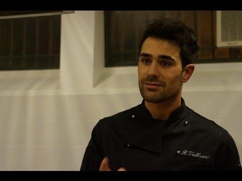 Roberto Valbuzzi e il suo corso di sana cucina
