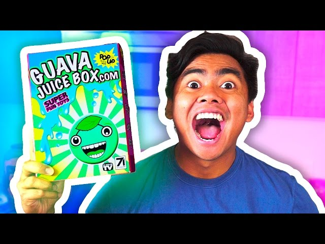 Gava Joucie But The Toy : Diy guava juice box unboxing mp gratiss