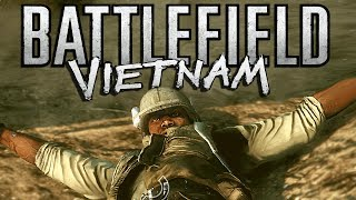 Battlefield Vietnam Funny Montage! Epic TNT Heli, Flamethrower Madness & More (BF Funny Moments)