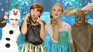 The Finger Family Song | Frozen | Greatest Kids Songs | SillyPop