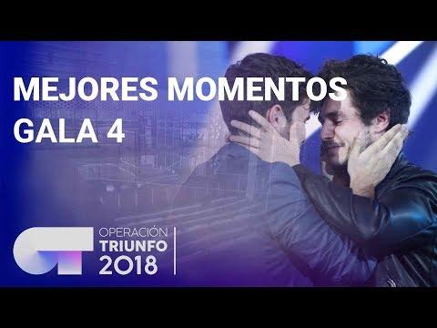 Mejores momentos de la Gala 4  OT 2018