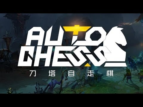 Let's Play:  Dota Auto Chess! - Episode 1 [Warrior/Hunter/Warlock]