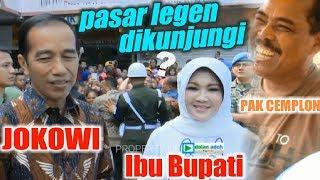 Video Bersama Ibu Bupati Klaten, JOKOWI Sambangi Pasar Legen kah MP3, 3GP, MP4, WEBM, AVI, FLV April 2019