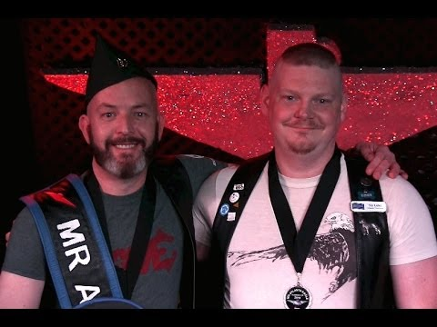 Mr. Atlanta Eagle 2014 Contest Winner · John Paquette · Gay Atlanta Leather Pride 2014 (видео)