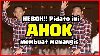Video Creeps !! Listen to AHOK's Speech, Crying Supporter Broke MP3, 3GP, MP4, WEBM, AVI, FLV Mei 2017
